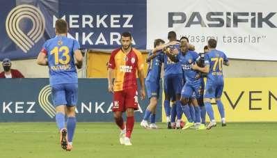Galatasaray, deplasmandaki 6. yenilgisini aldı