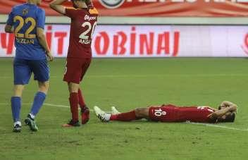 Galatasaray'da galibiyet hasreti 8'e çıktı