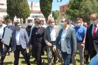 Gençlik ve Spor Bakanı Mehmet Muharrem Kasapoğlu Keşan'ı ziyaret etti