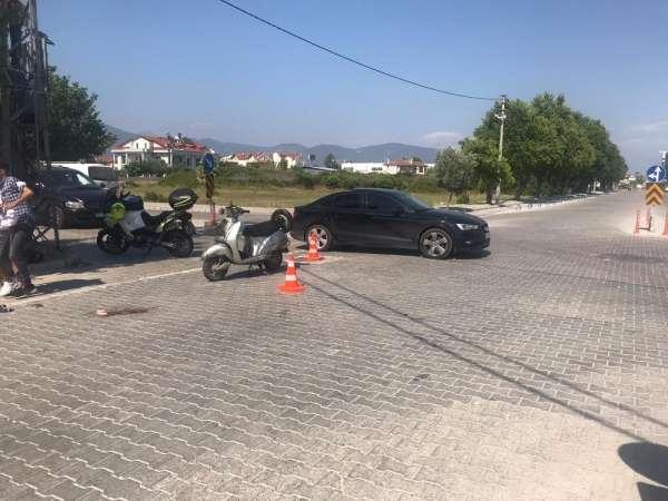 Kazada ağır yaralanan motosiklet sürücüsü 5 gün sonra hayatını kaybetti