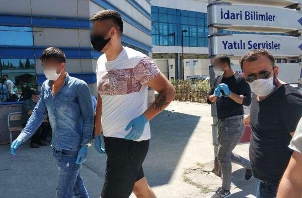 Samsun'da 4 kişinin bıçakla yaralandığı kavga olayında 3 gözaltı