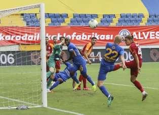 Süper Lig: MKE Ankaragücü: 0 - Galatasaray: 0 (İlk yarı)