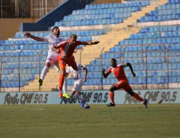 TFF 1.Lig: Adanaspor: 0 - Hatayspor:0 (İlk yarı)