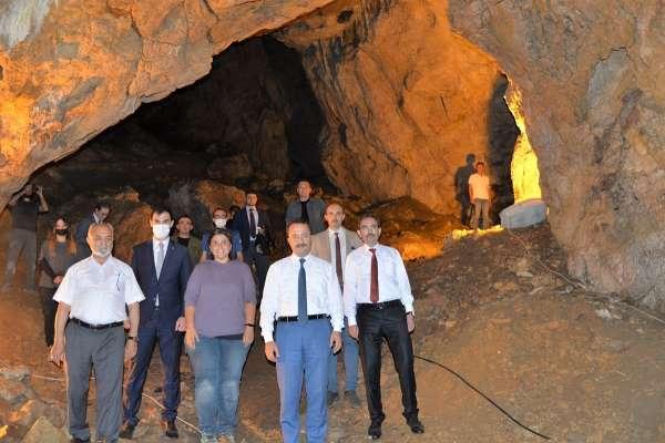 Arkeolojik kazı çalışmaları yapılan Gedikkaya Mağarası turizm kazandırılacak