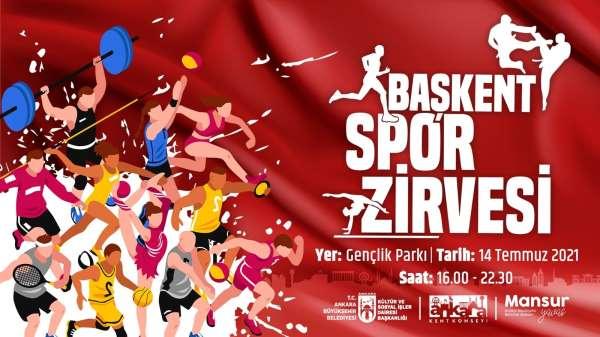 Başkent, Spor Zirvesine ev sahipliği yapacak