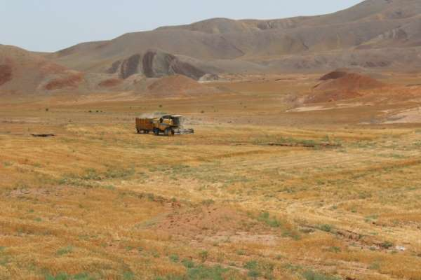 Binlerce dönümlük çorak arazi yeniden tarıma kazandırılıyor