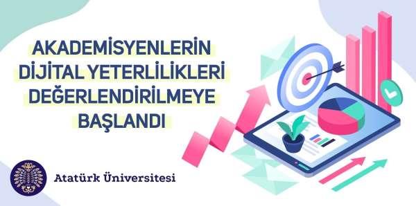 Eğitimcilerin dijital yeterlilikleri Türkiyede ilk kez Atatürk Üniversitesinde değerlendirilmeye başlandı