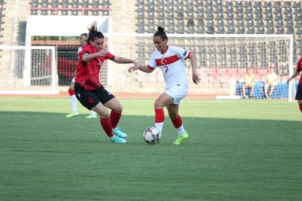 Kadın A Milli Takımı, Arnavutluku 2-1 mağlup etti