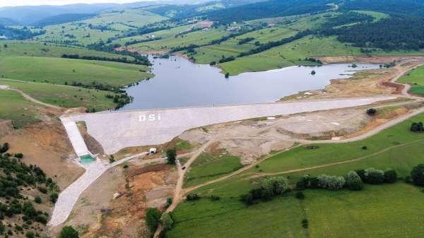 Ladik Fındıcak Barajının geçici kabulü yapıldı