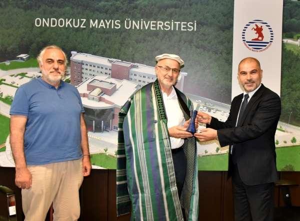OMÜ, Afganistan Selam Üniversitesi ile iş birliği protokolü imzaladı