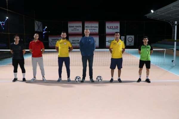 Simavda Ayak tenisi turnuvası