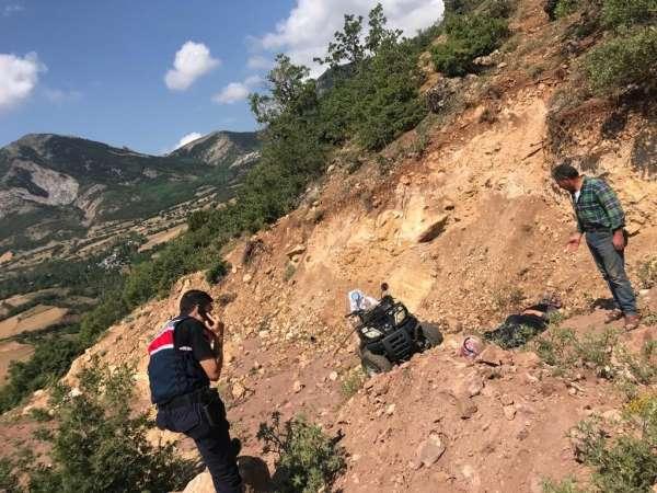 Sivasta ATV kazası: 1 ölü, 1 ağır yaralı