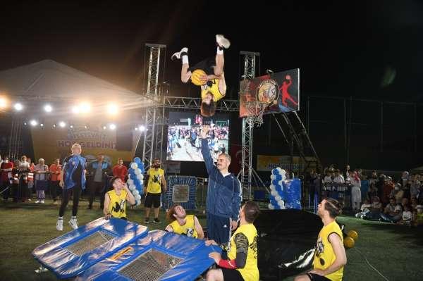Spor festivali renkli görüntülere sahne oldu