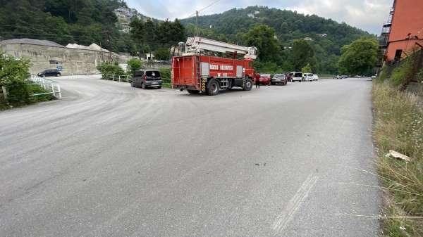 Zonguldakta trafik kazası: 1 yaralı