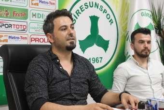 Giresunspor yönetimi, kulübün ekonomik sorunlarına çözüm arıyor
