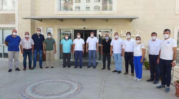 CHP heyetinden Kuşadası Ticaret Odası'na ziyaret
