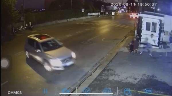(Özel) Feci kazada ölümden saniyelerle kurtuluş kamerada