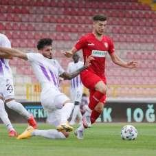 TFF 1. Lig: Boluspor: 0 - Ankara Keçiörengücü: 1