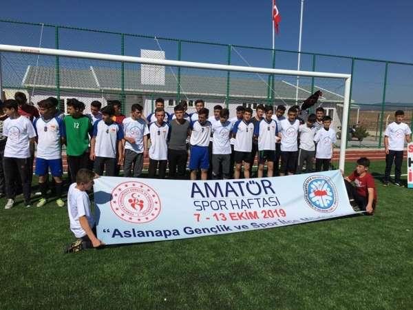 Aslanapa'da Amatör Spor Haftası etkinlikleri