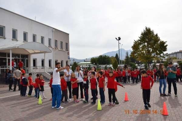 ERÜ Spor Bilimlerinden 'Spor yap zinde kal' etkinliği