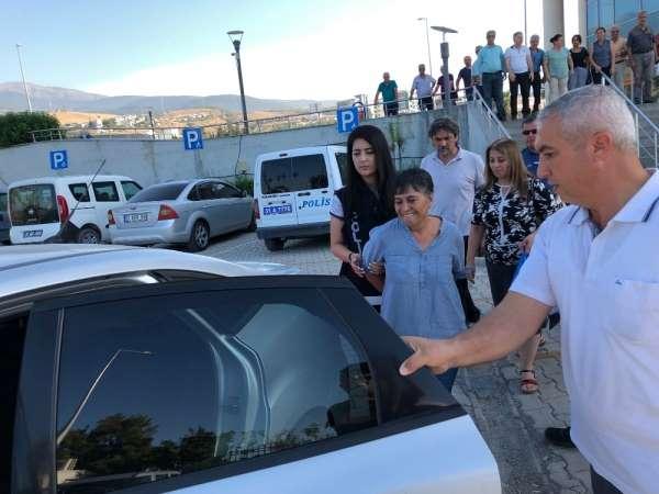 Hatay İskenderun'da HDP Eş başkanı terör örgütü propagandası suçlaması ile tutuk