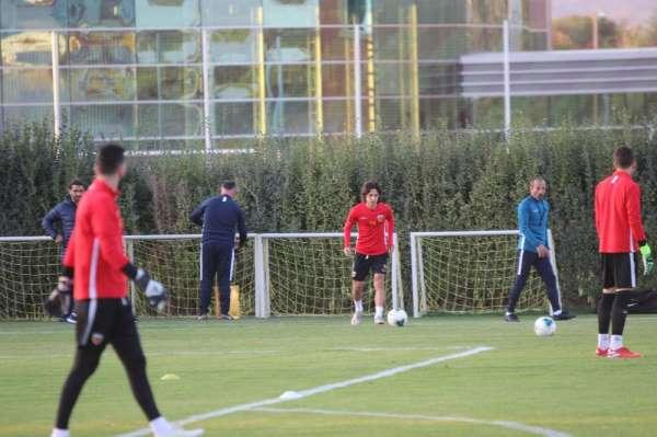 Kayserispor, Kasımpaşa maçına hız kesmeden hazırlanıyor