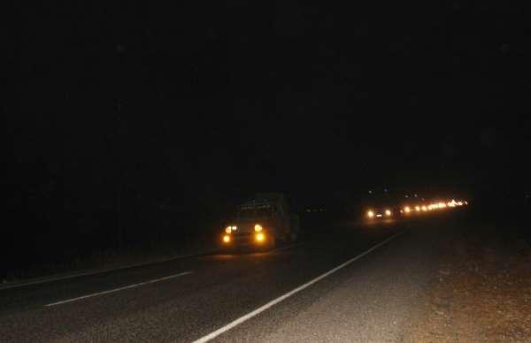 Sınıra Suriye Milli Ordu askeri ile silahla donatılmış arazi aracı gönderildi