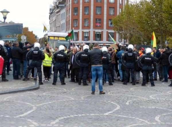 Terör örgütü sempatizanları, Belçika'da gurbetçilere saldırdı