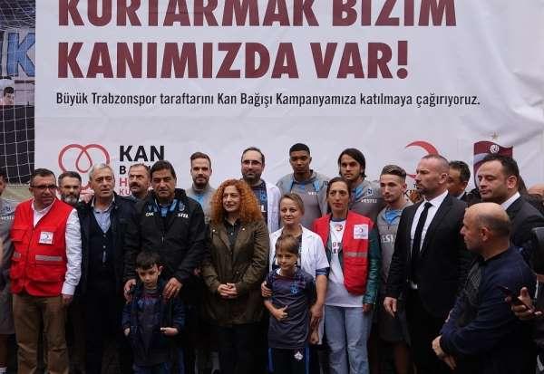 Trabzonspor'dan 'Kurtarmak bizim kanımızda var' projesine destek