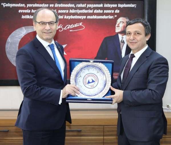 YÖK Başkan Vekili Rahmi Er, Erciyes Üniversitesi'nde
