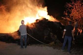 Amasya'da ahır yangınında 16 büyükbaş hayvan telef oldu