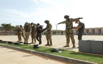 MSB:'Libya ordusunun uluslararası standartlara ulaştırılması maksadıyla sağlanan