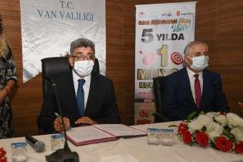 Van'da 'Köyümde yaşamak için bir 'sürü' nedenim var' projesi protokolü imzalandı