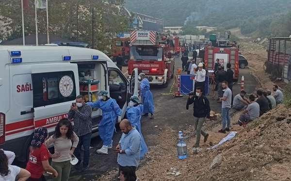 Bursada plastik fabrikasında patlama: 1 işçi öldü, 6 işçi yaralandı