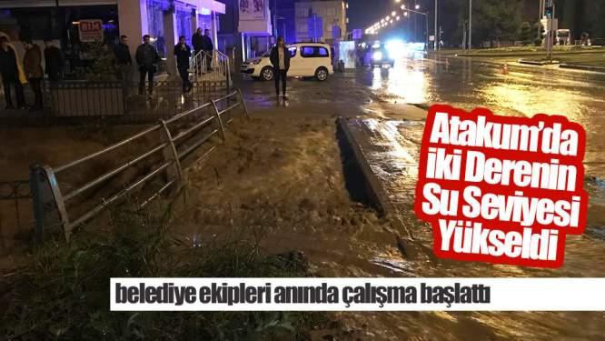 Samsun'da Aşırı Yağış