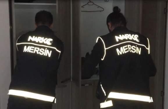 Mersin'de 63 Kilo Esrar Yakalandı