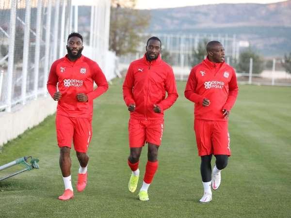 Sivasspor'da Karagümrük maçı hazırlıkları başladı