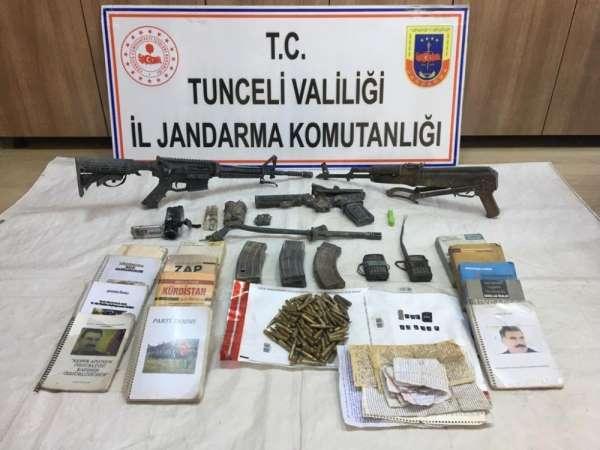 Tunceli'de kırmızı listedeki teröristin etkisiz hale getirildiği operasyonda sil