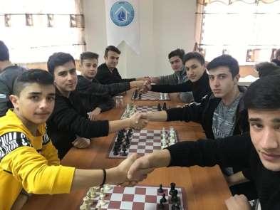 Emet'te Liseler arası satranç turnuvası sona erdi
