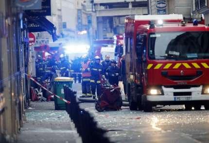 Paris'te büyük patlama: 20 yaralı