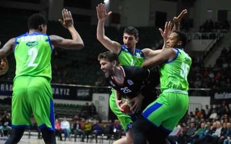 Tahincioğlu Basketbol Süper Ligi: TOFAŞ: 89 - Beşiktaş Sompo Japan: 79