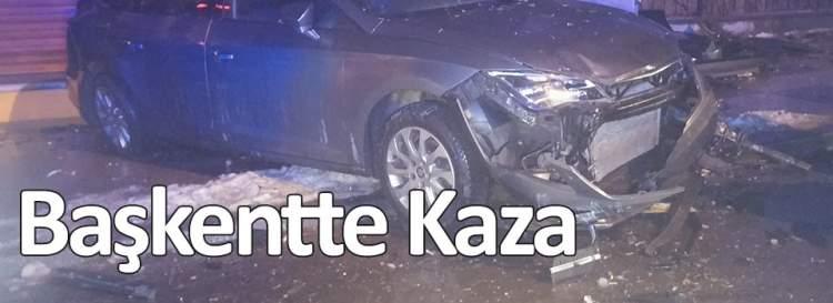 Başkentte Kaza: 4 yaralı
