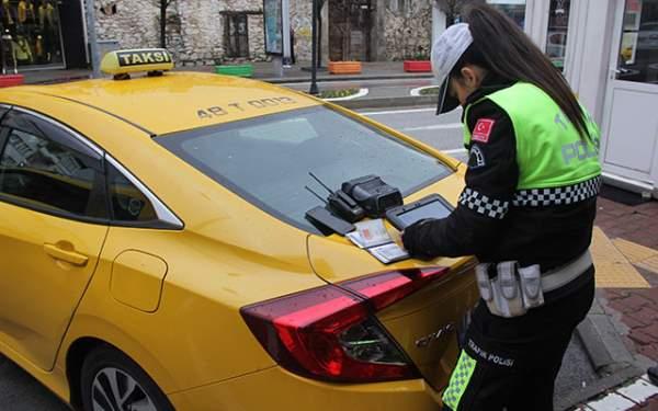Samsun Haberleri: Taksicilere Ceza Yağdı