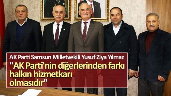 'AK Parti'nin diğerlerinden farkı halkın hizmetkarı olmasıdır'