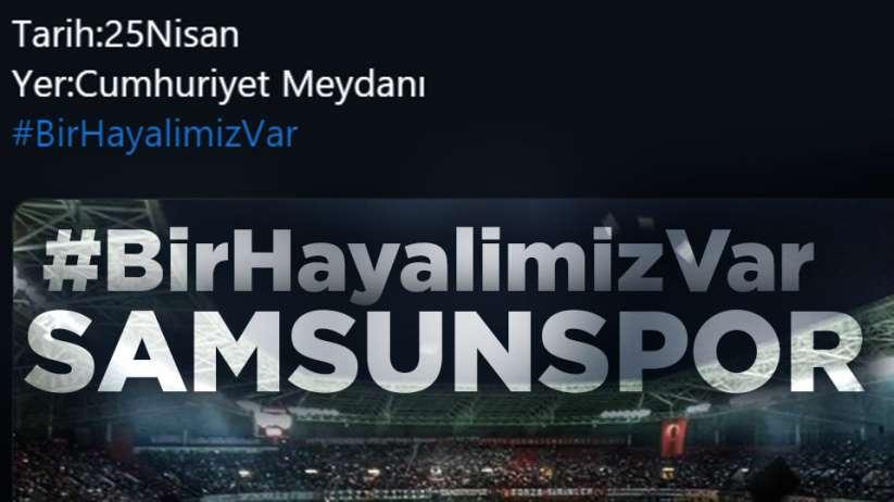 Samsunspor taraftarı sosyal medyayı kilitledi
