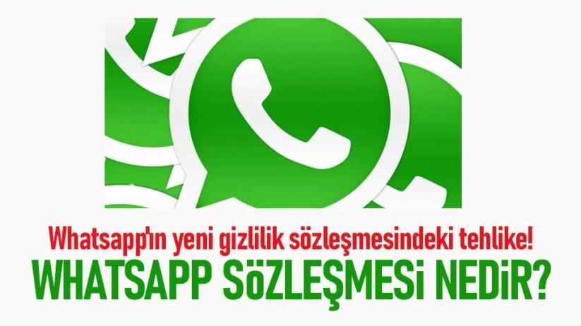 Whatsappın yeni gizlilik sözleşmesindeki tehlike!