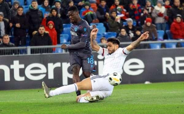 UEFA Avrupa Ligi: Basel: 2 - Trabzonspor: 0 Maç sonucu
