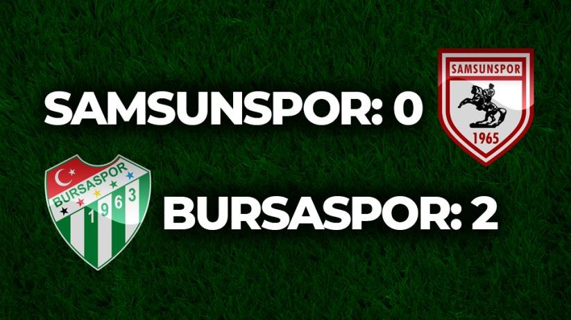 Samsunspor:0 / Bursaspor:2