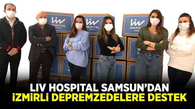 Liv Hospital Samsundan İzmirli depremzedelere destek