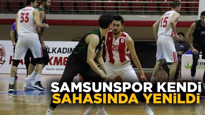 Samsunspor kendi sahasında yenildi